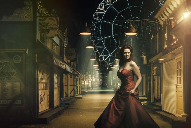 Sandrine André - the amusement park