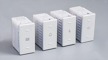 מערכת מפסקים חכמים  צבע לבן IGH