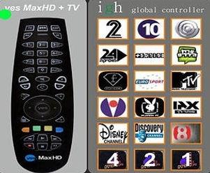 שליטה  בטלויזיה ופונקציות שלט IGH
