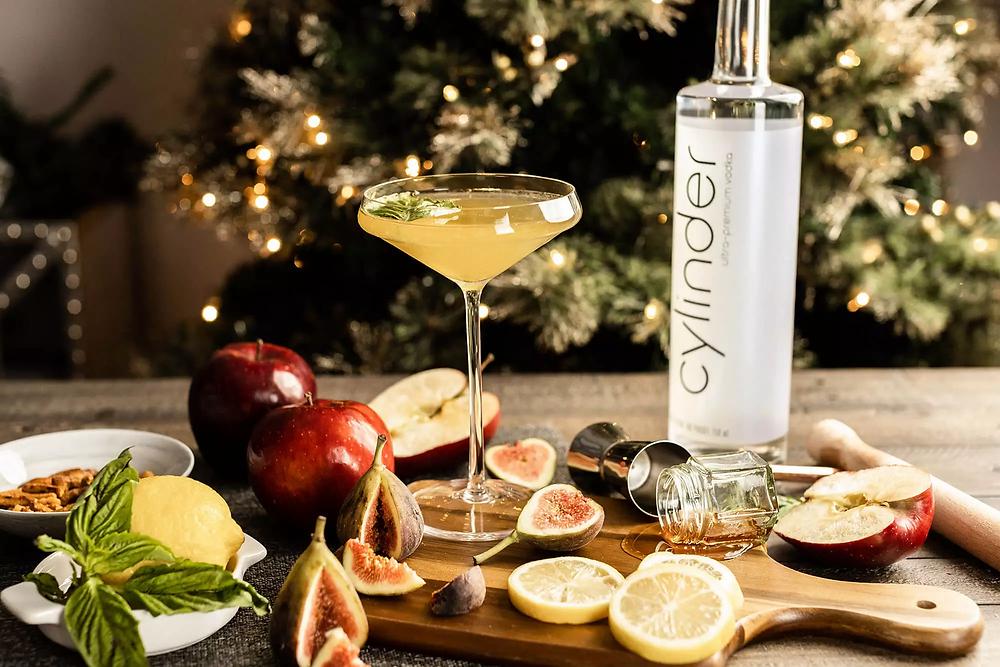 Cylinder Vodka Winter Smash Martini