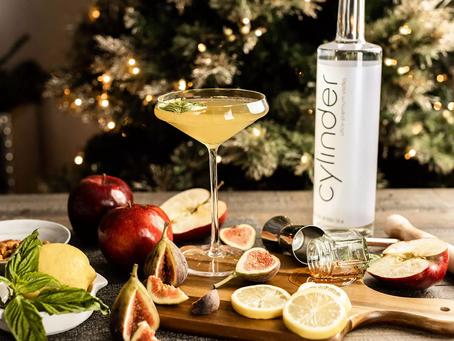 Winter Smash Martini