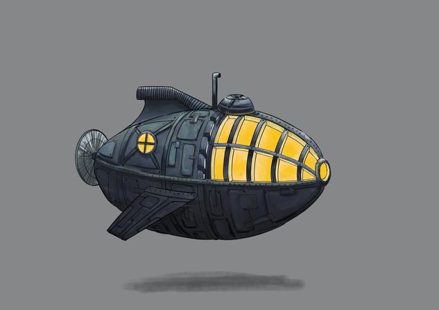 nautilus (participation au concours d'illustration de Bologne 2019)