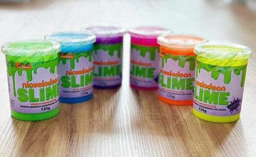 Kit Geleca Slime Nickelodeon Com 6 Unidades