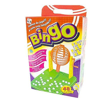 Bingo na Caixa c/ 48 Cartelas