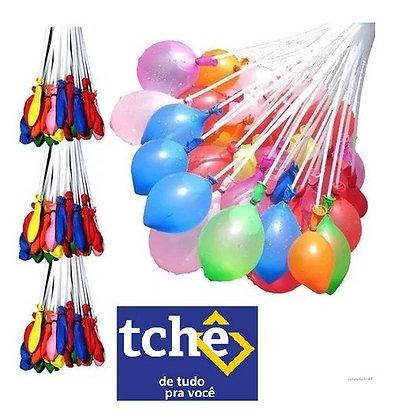 Kit Balões De Água 296 Bexigas Bunch Water Balloons