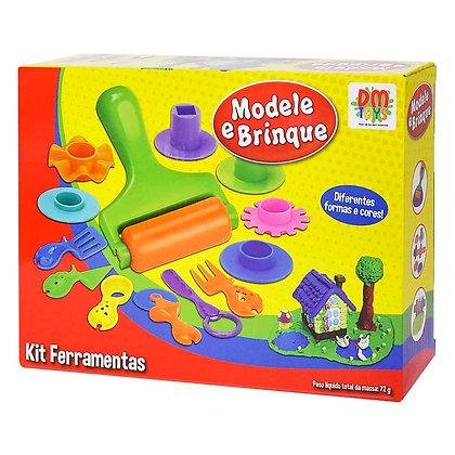 Modele e Brinque Kit Ferramentas