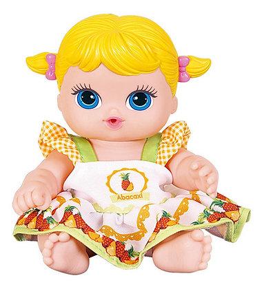 Boneca Frutinha Com Cheirinho De Fruta - Abacaxi