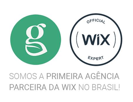 Somos a primeira agência de marketing digital brasileira a se tornar parceira do programa Wix Agency