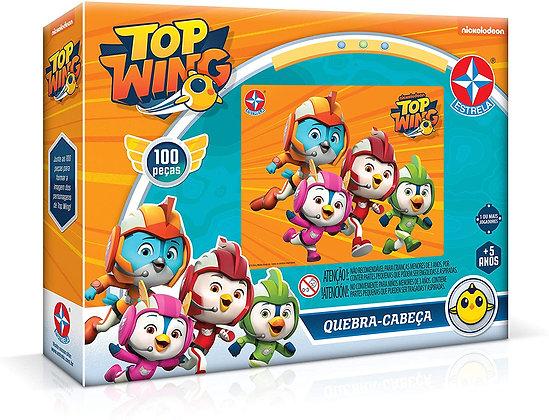 Quebra-cabeça 100 Peças Top Wings Brinquedos Estrela Multicores