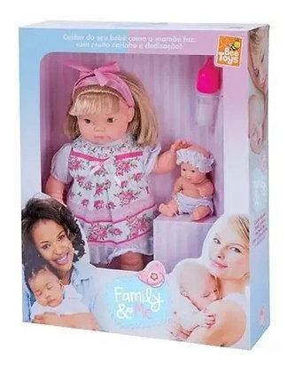Boneca Family E Me - Bee Toys