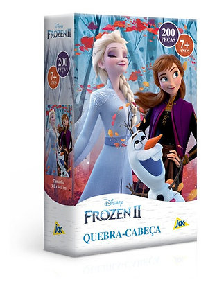 Quebra - Cabeça Frozen II 200 Peças