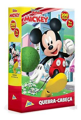 Quebra Cabeça Disney Junior - Mickey 200 Peças