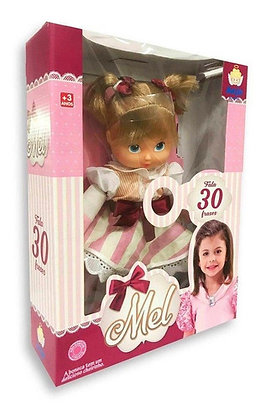 Boneca Mel -  Anjo