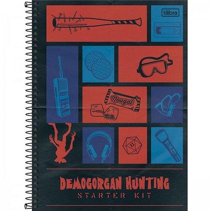 Caderno Univ. Stranger Things 1 Matéria 80 Folhas - Tilibra