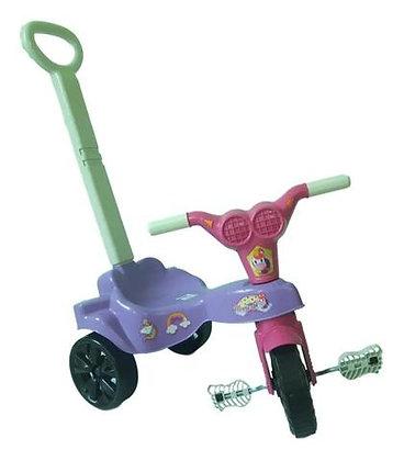 Triciclo Unicórnio Rosa