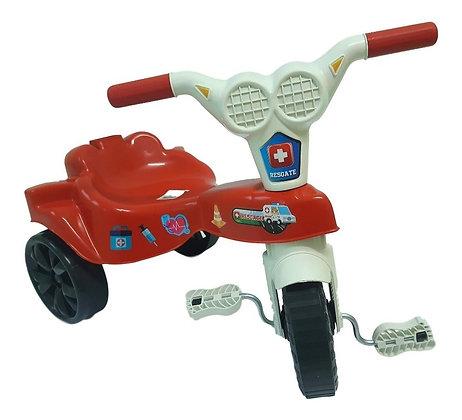 Triciclo Resgate Vermelho