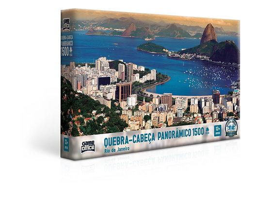 Quebra Cabeça Panorâmico 1500 Rio de Janeiro