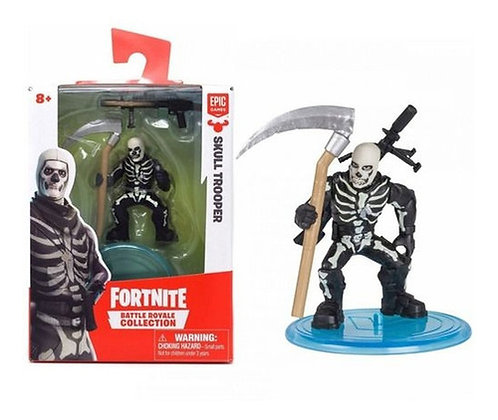 Action Figure 5 Cm Colecionador - Fortnite - Skull Trooper