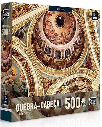 Quebra Cabeça - 500pçs Arte Sacra