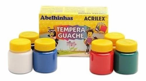 Tinta Guache Tempera Acrilex 15ml