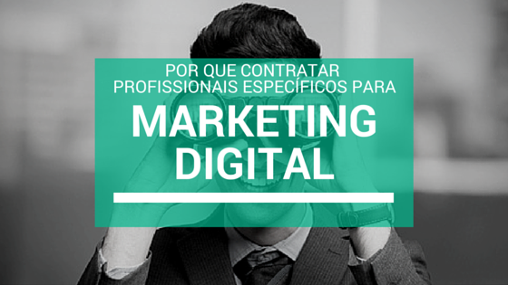 Contratar profissional de marketing digital