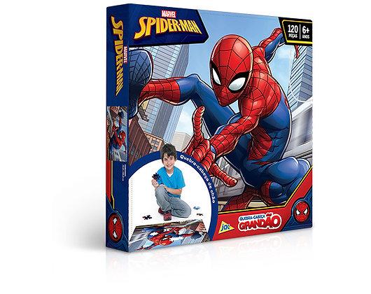 Spider-Man – Quebra-Cabeça 120 Peças Grandão