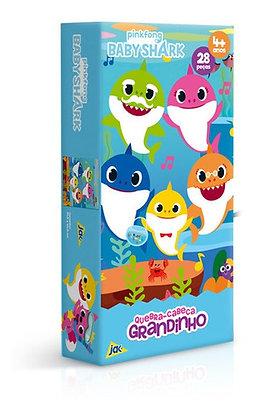 Baby Shark  Quebra-cabeça 28 Peças Grandinho