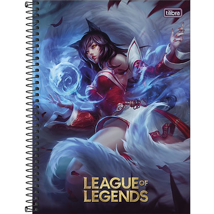 Caderno Univ. League of Legends 1 Matéria 80 Folhas
