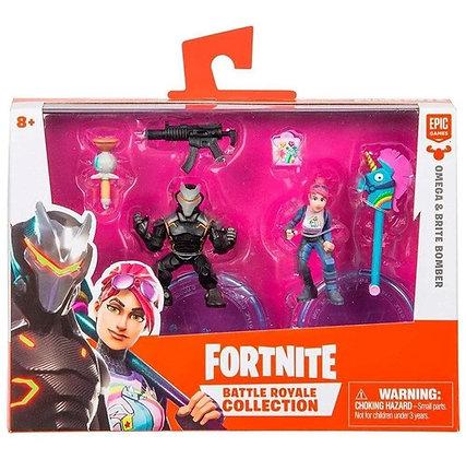 Bonecos 2 Unidades Action Figures - Colecionador - Fortnite