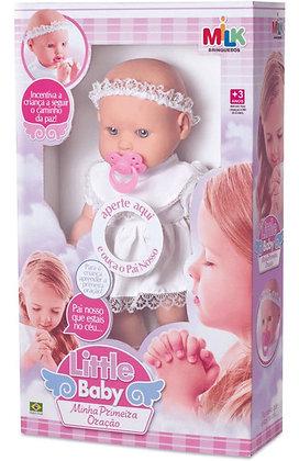Boneca Little Baby - Minha Primeira Oração