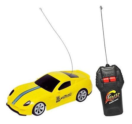 Carro De Controle Remoto -  Champion Sports 1:32 - Amarelo