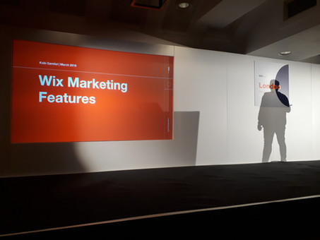 O que aprendi no Wix Meetup de Londres?