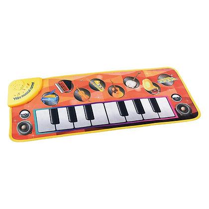 Tapete Piano Musical com Som de Instrumentos e Luz