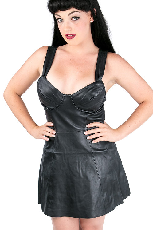 Mini Cocktail Dress with Underwire