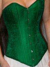 Green Silk Overbust