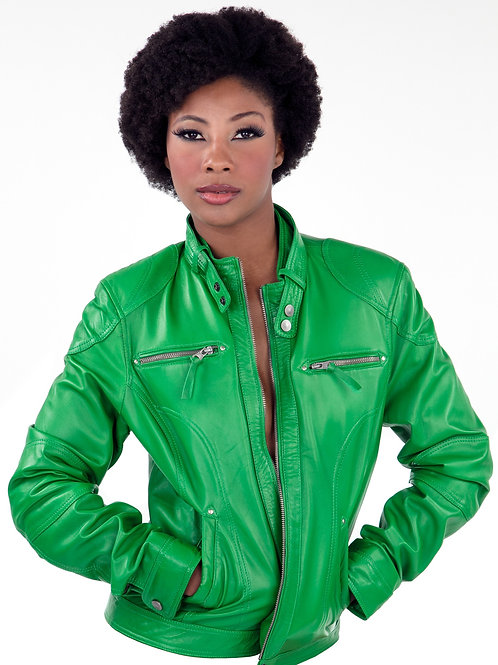 Retro Horizontal Zippers Jacket