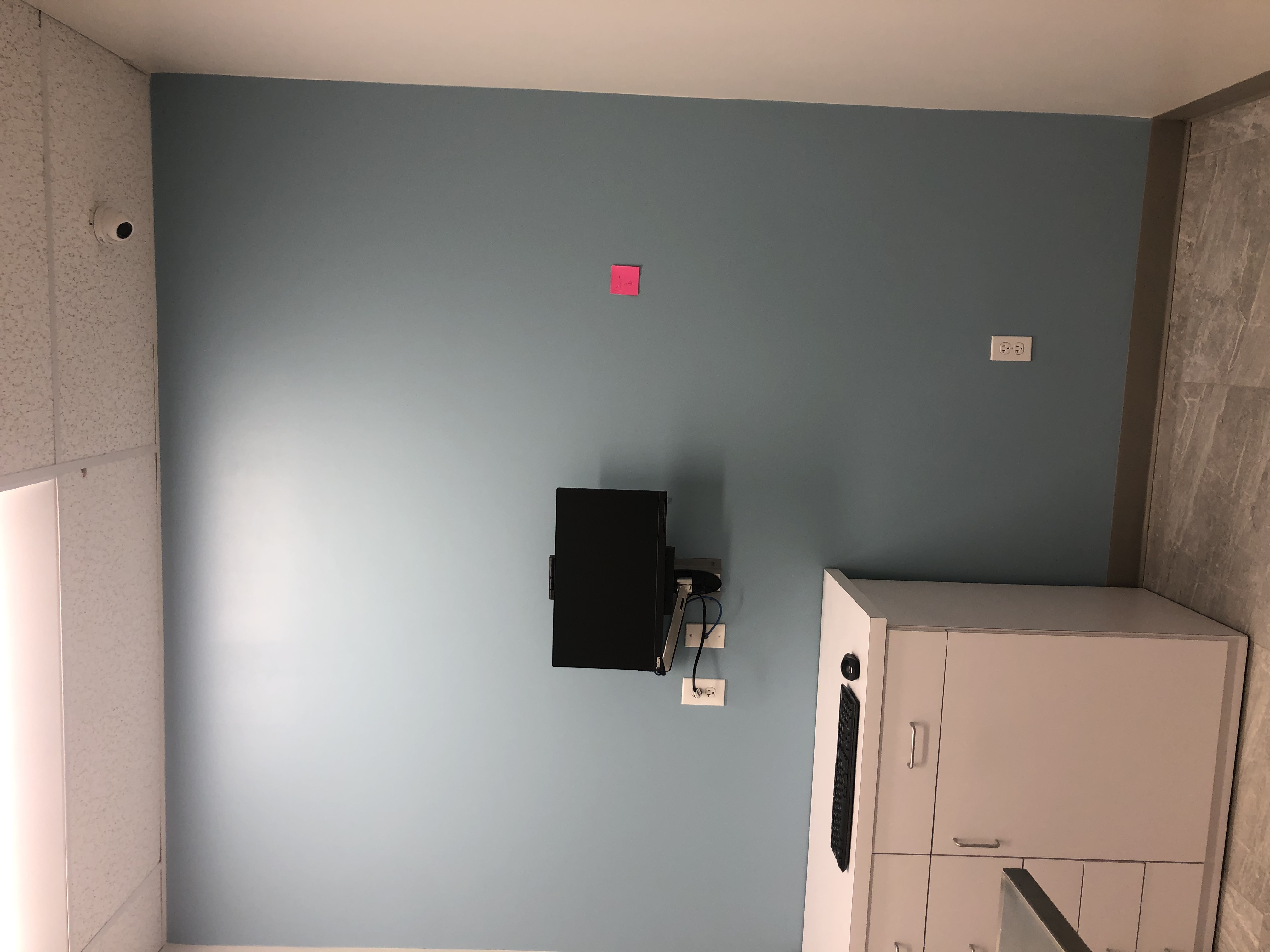Wall Mount and Security Camera