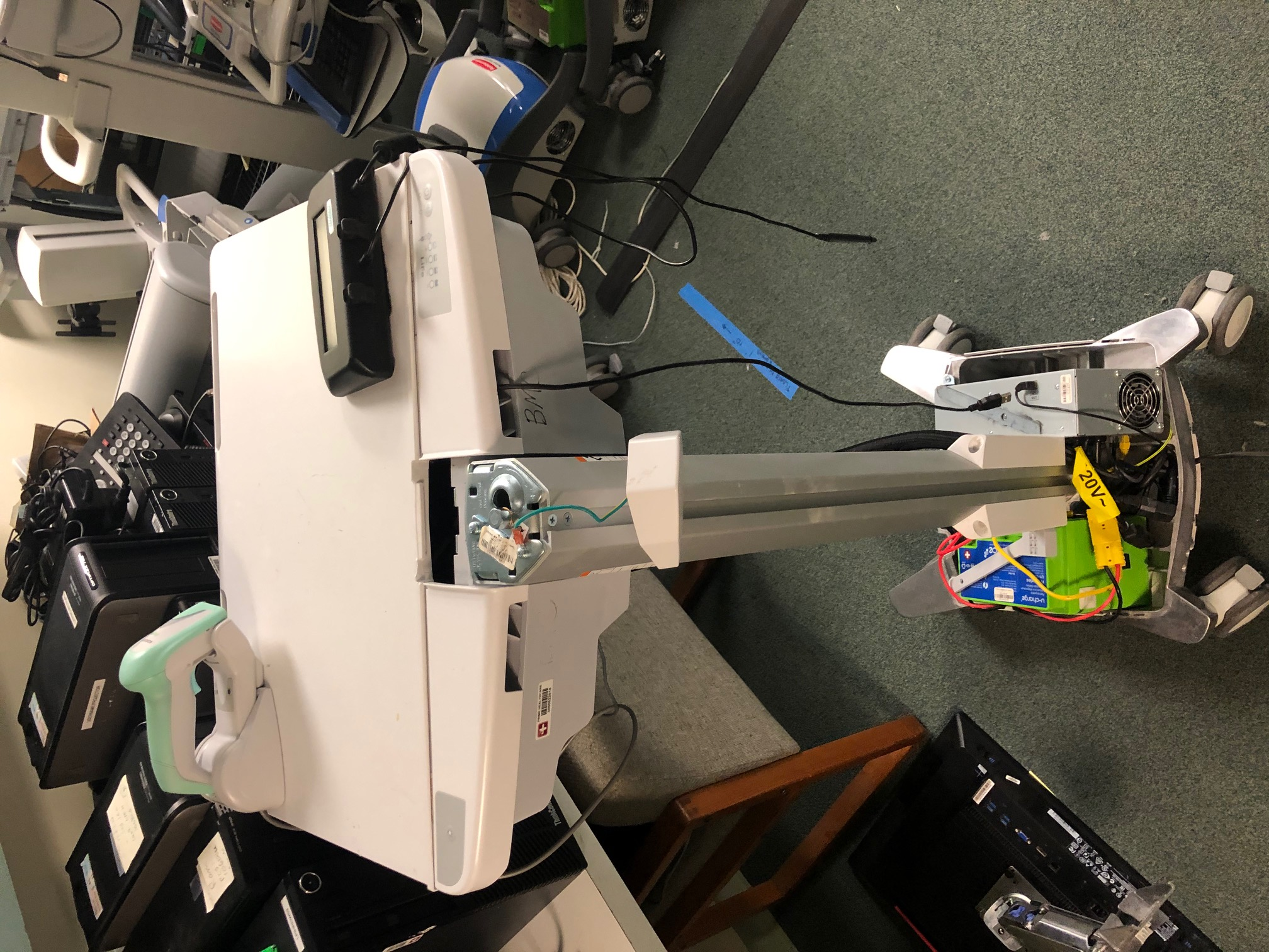 Repairing Lift Engine on Cart (WOW)