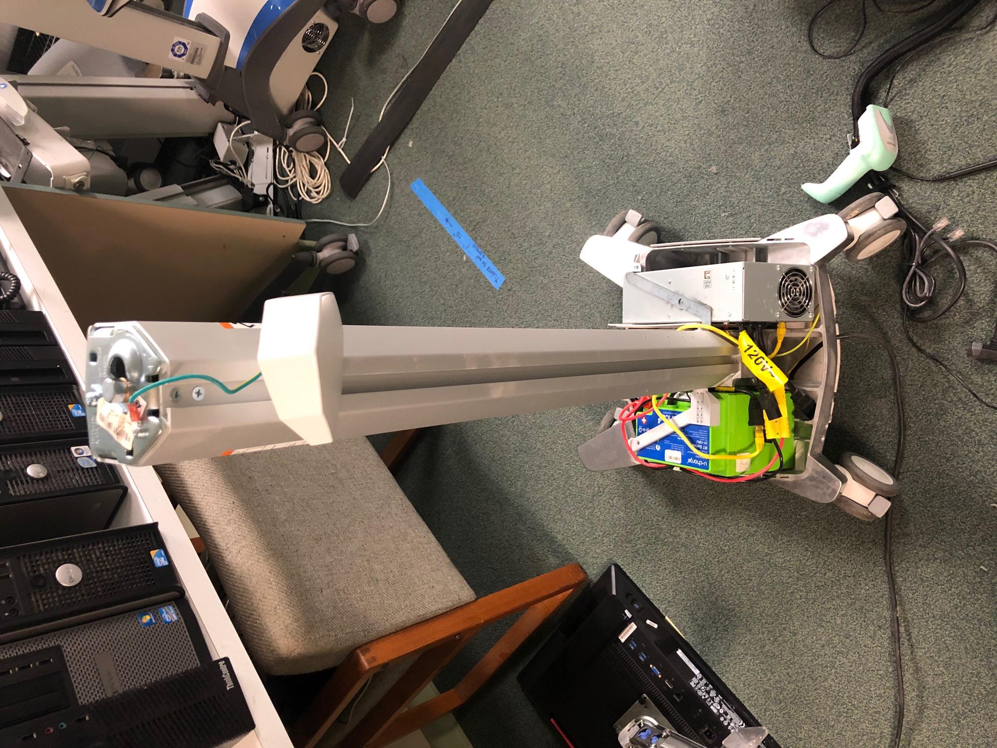 Cart Lift Engine Repair