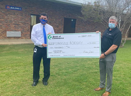 Bank of Commerce Gives $50,000 to Local Educational Organizations as Part of Children's Promise Act