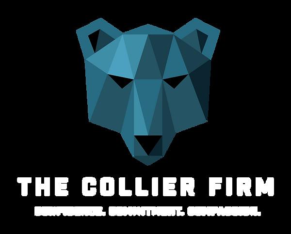 2017 - Collier Firm - Logo - Final White