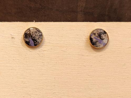 "Circle earrings ""Unique Nr12"""