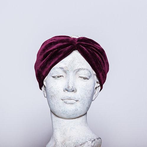 Haarband Samt, Violett