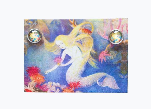 Ohrstecker Meerjungfrau