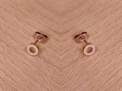 Pendientes Circulares, tamaño pequeño