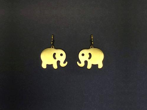 Hängerohrringe Elefant