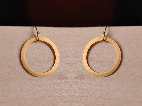 Hängeohrringe Ring