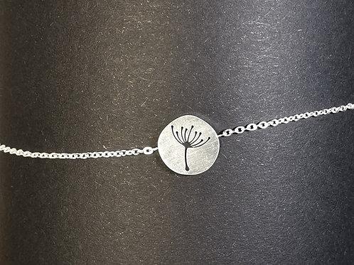 Armband ausgeschnitten Pusteblume