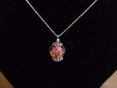 Unique flower necklace number 39