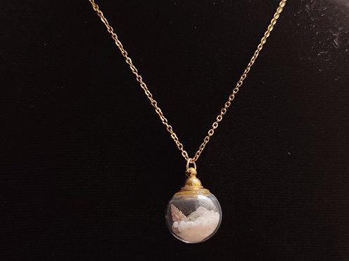 Flower necklace unique number 84
